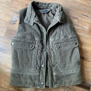Citizens Of Humanity brown corduroy vest size s